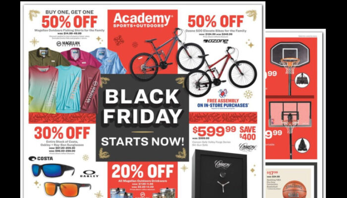 Academy Black Friday Ad 2021 – LIVE ONLINE NOW!