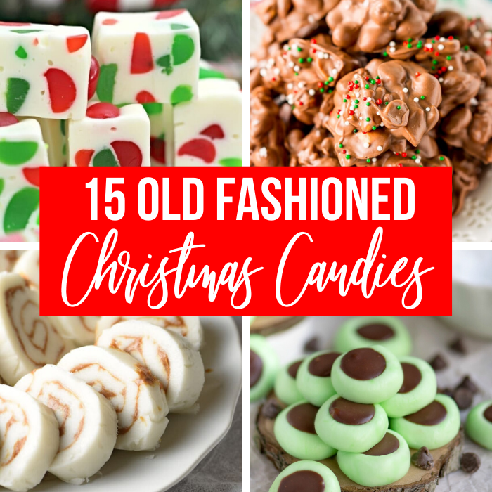 15 Old Fashioned Christmas Candy Recipes Passion For Savings
