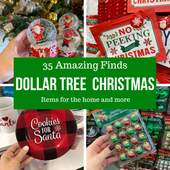 35 Amazing Dollar Tree Christmas Finds This Year Passion For Savings