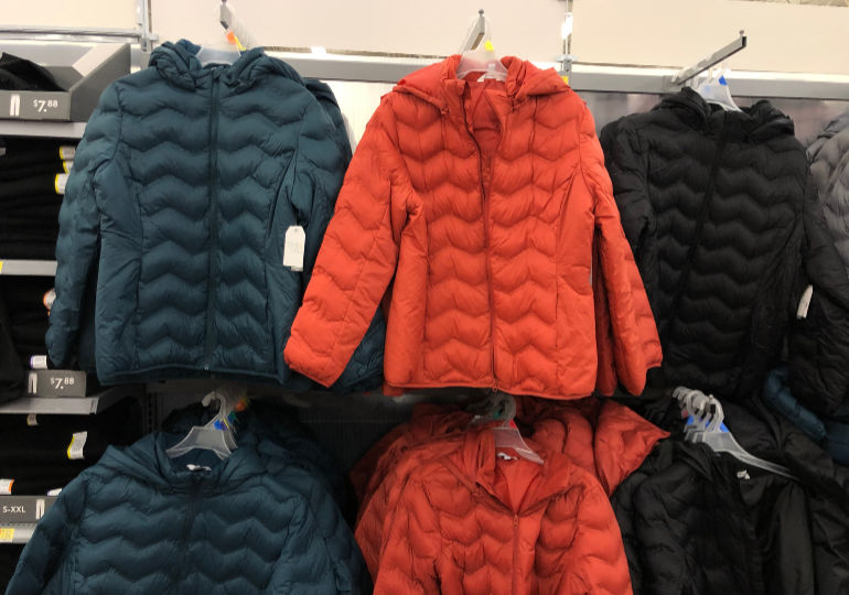 time and tru puffer coats on sale