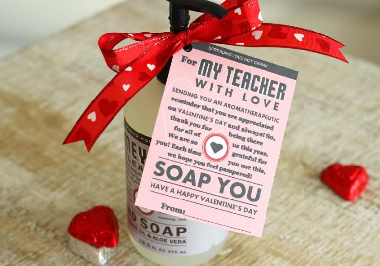 Valentine Printable For Teachers