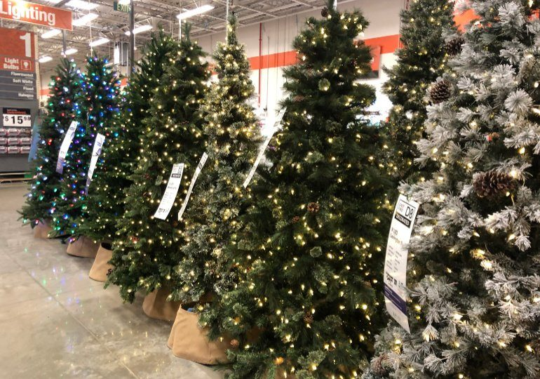 Home Depot Christmas Decorations on Sale