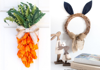 easter wreath crafts