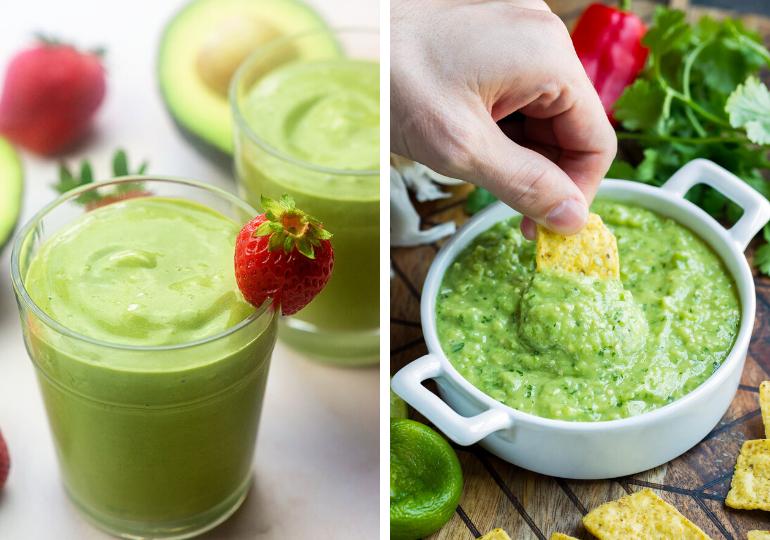 green snack ideas