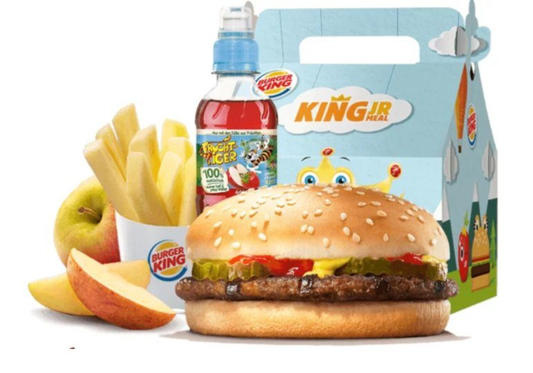 Burger King App- Kids Meal