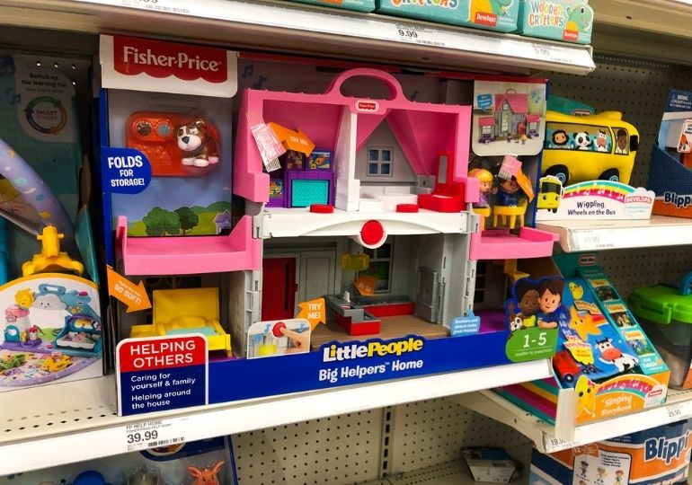 Fisher Price Little People Big Helpers Home on Sale - dollhouse in store