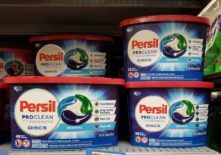 free sample of persil proclean detergent - persil proclean discs
