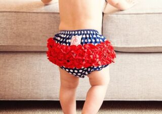 FREE Ruffled Diaper Covers