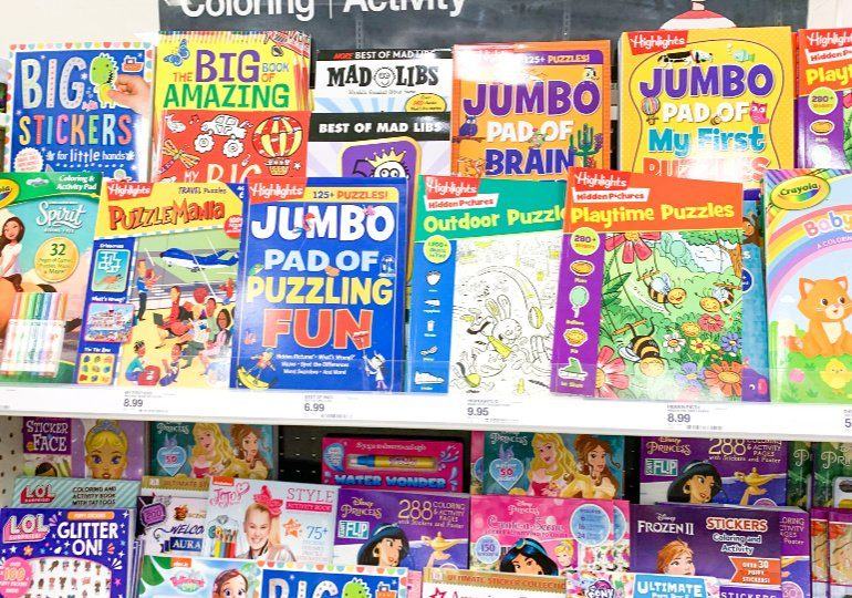 Kids Activity Books