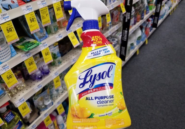 Lysol Disinfectant Spray on Sale - Lysol All Purpose Cleaner