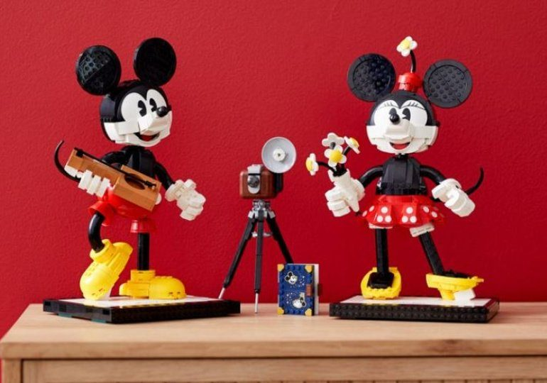 Lego Disney Mickey & Minnie Mouse Buildable Characters