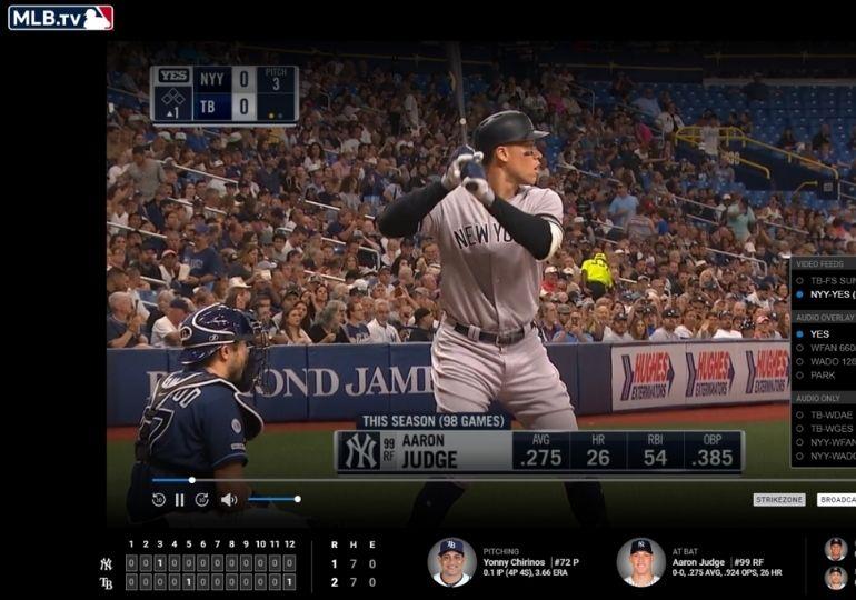 FREE MLB.TV for College Students - baseball game on mlb.tv