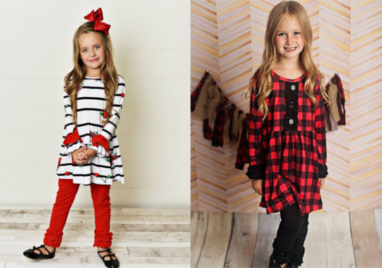 Cheap Girls Christmas Outfits