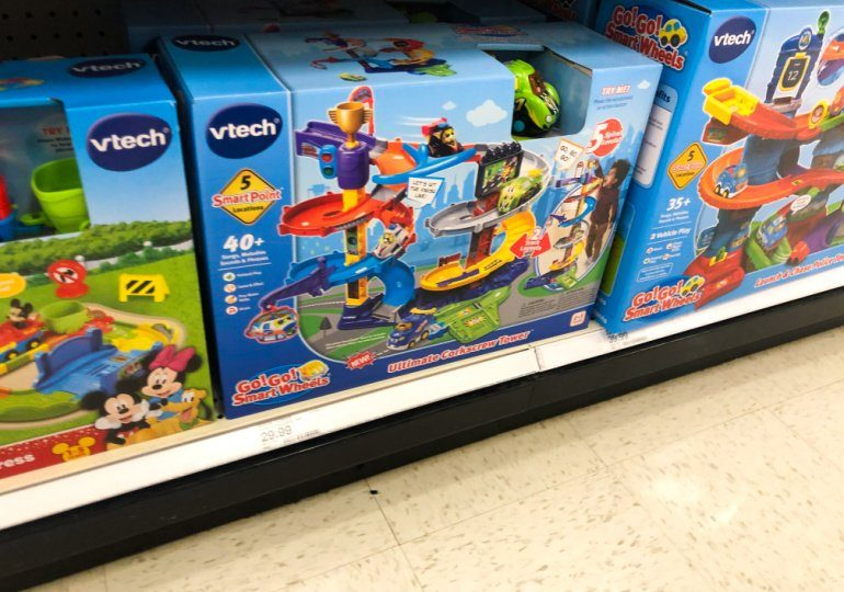 VTech Toys on Sale - smart wheels corkscrew tower in store