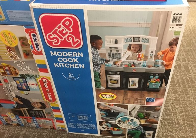 Black Friday Step2 Deals - modern cook kitchen in store