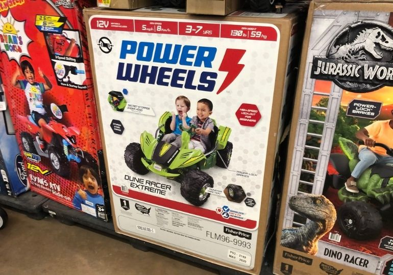 Black Friday Power Wheels