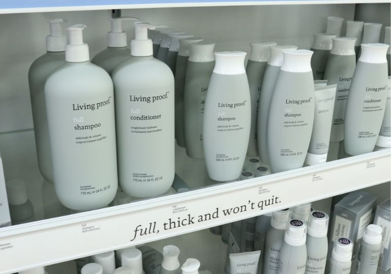 QVC Black Friday Deals - living proof shampoo and conditioner in store