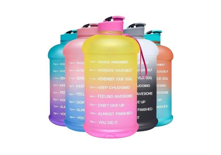 Time-Marked Water Bottle - water bottles