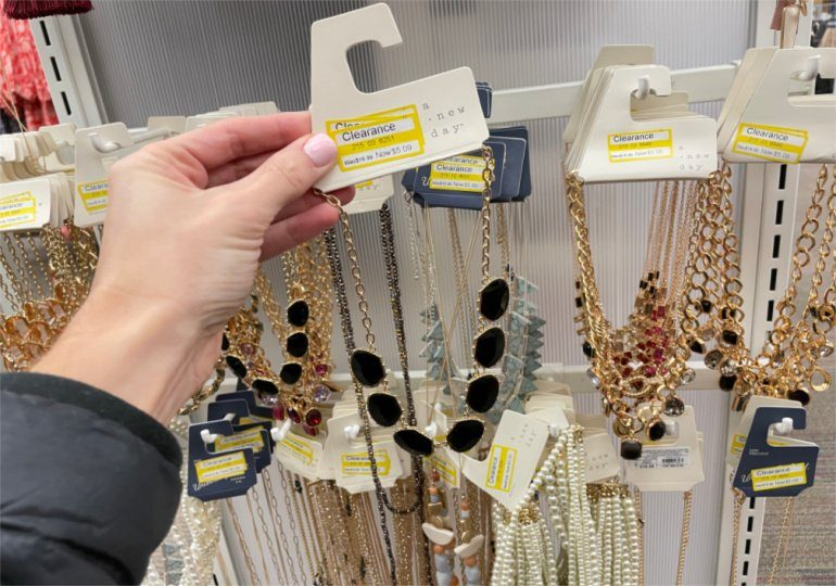 Target Jewelry Clearance