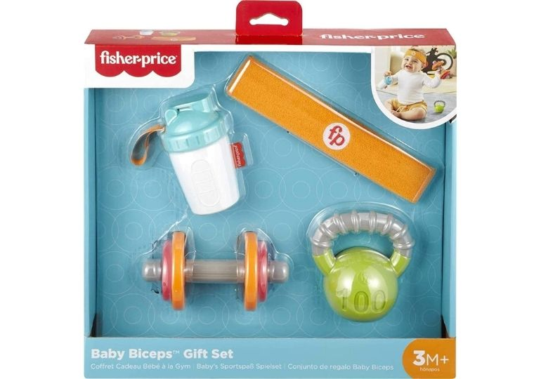 Fisher-Price Baby Biceps Gift Set on Sale