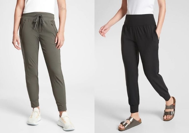 Athleta Joggers on Sale - woman in joggers