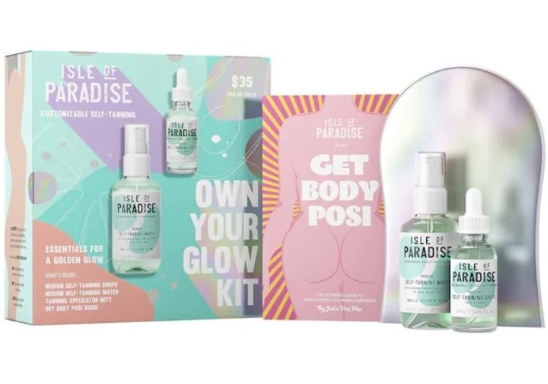Isle of Paradise Self-Tanning Deals - own your glow kit