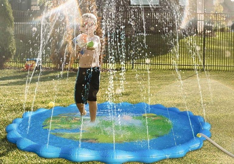 Kids Splash Pad Sprinkler