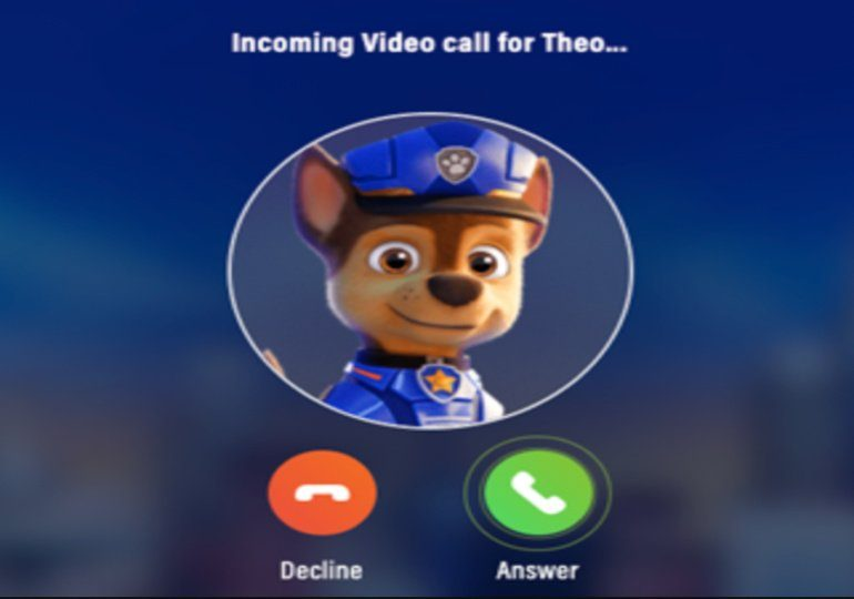 FREE Personalized Video Call from Chase from Paw Patrol