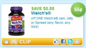 Welch's Jelly Coupon