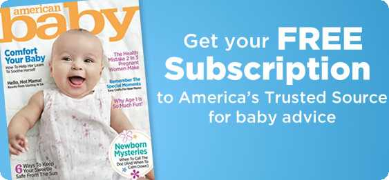 FREE Subscription to American Baby Magazine!